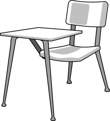 Chair clipart kerusi. Furniture school desk clip