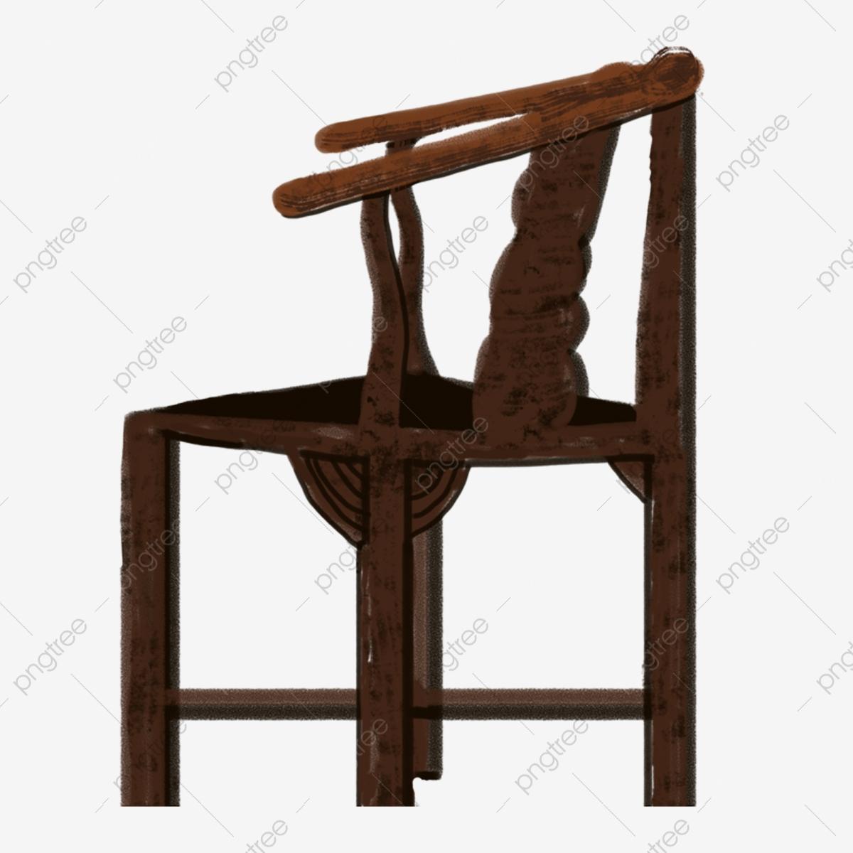 Klasik dan elegan imej. Chair clipart kerusi