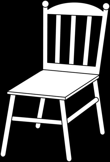 Line art free clip. Clipart chair