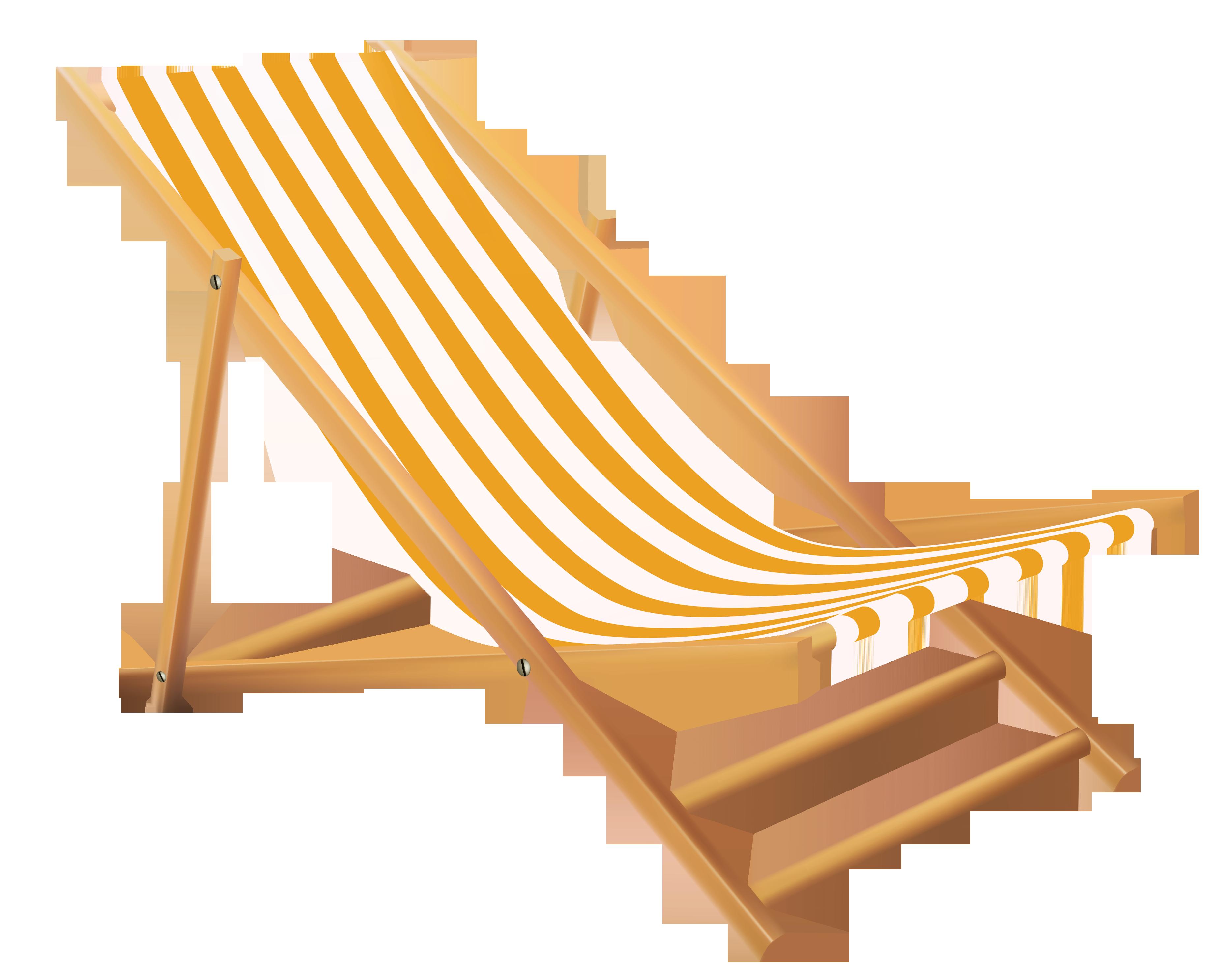Beach lounge chair gallery. Furniture clipart transparent