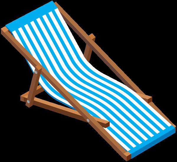 Furniture clipart lounge chair. Transparent beach clip art