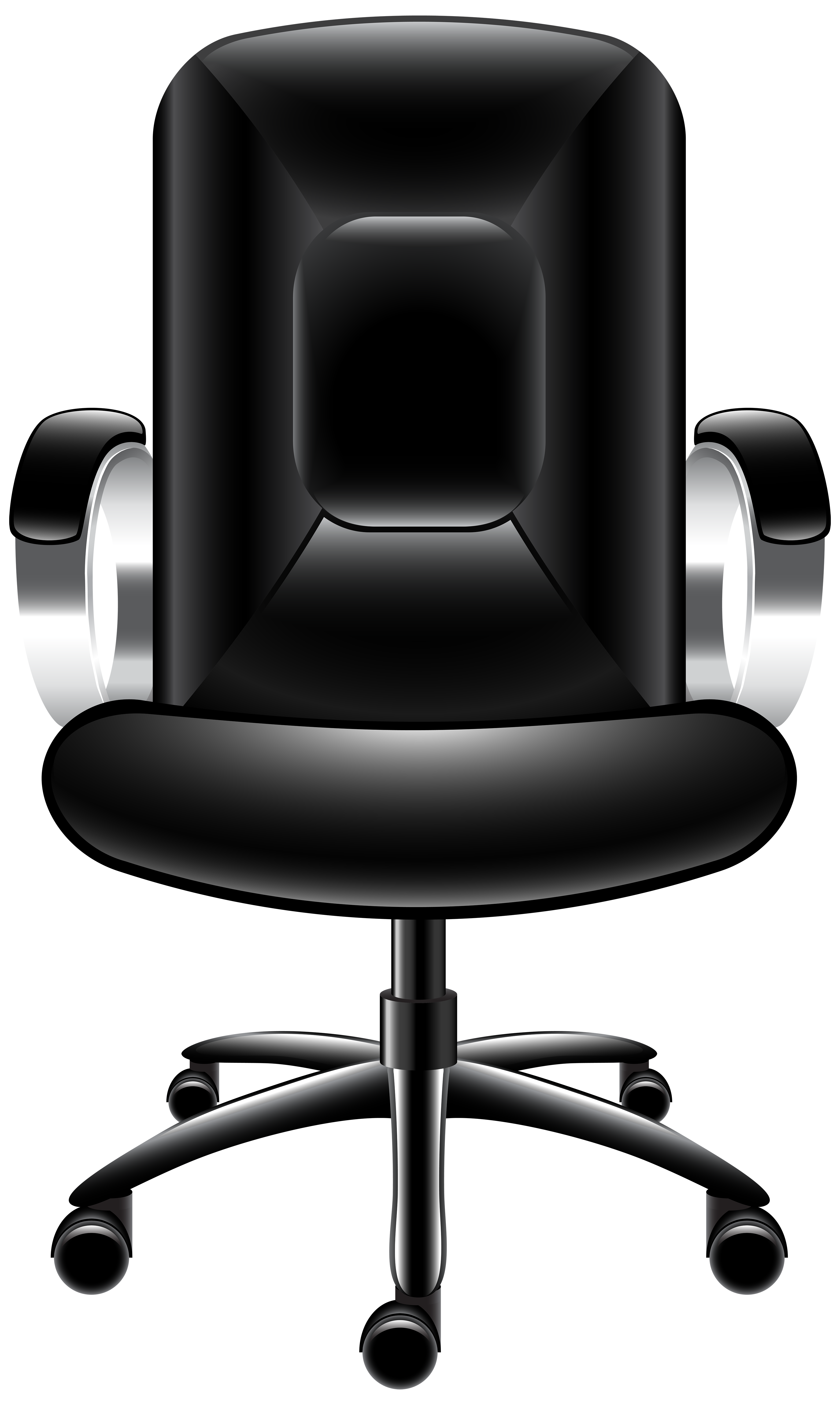 Office transparent png clip. Clipart chair top view