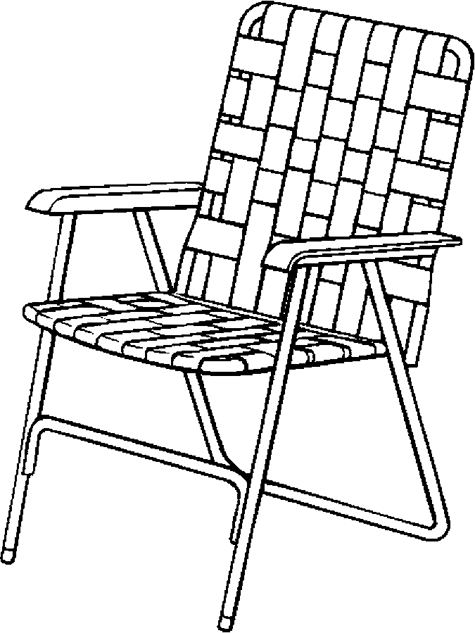 chair black and white - Clip Art Library