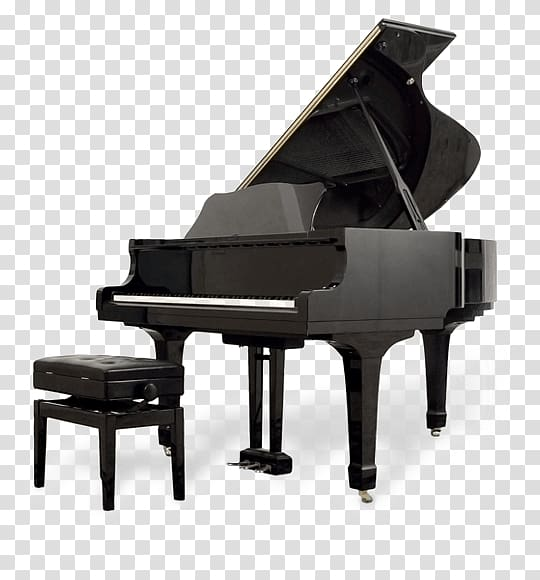 Clipart piano large. Black grand and chair