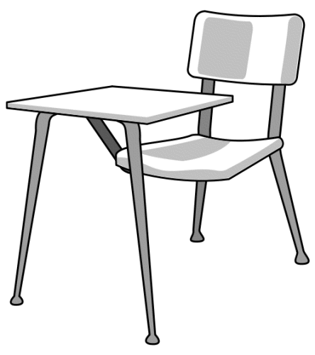 Desk clipart classroom full. Endearing middle school free