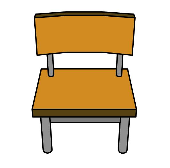 Classroom clipart thing. School chair