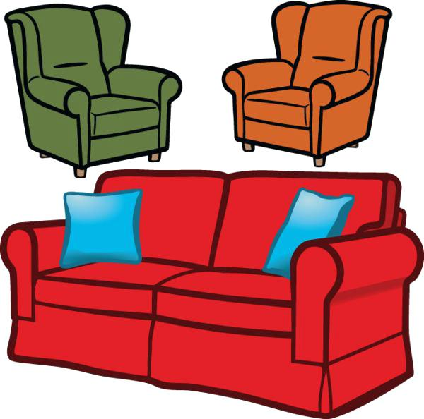Clip art best from. Chair clipart sofa