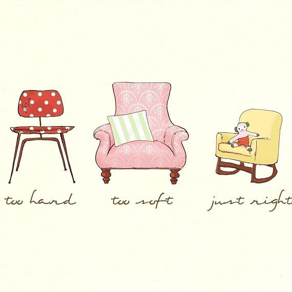 Children s wall art. Chair clipart three chair