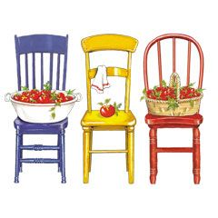 Chair clipart three chair.  best country graphics