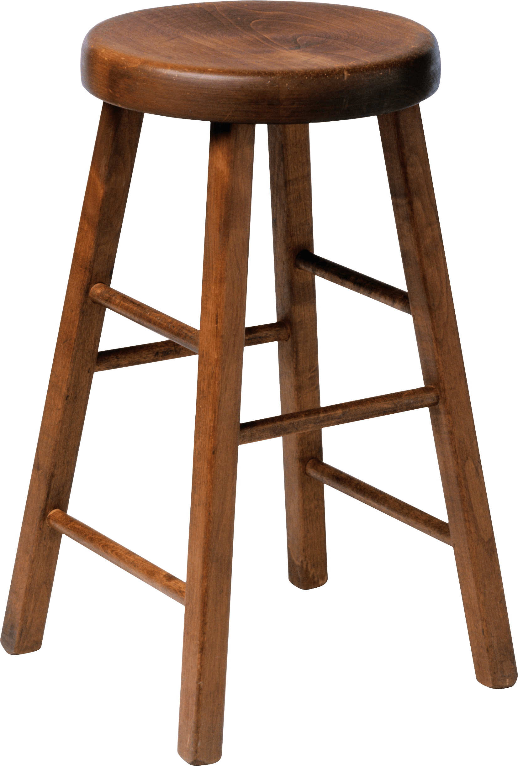 Wooden stool transparent png. Clipart chair old