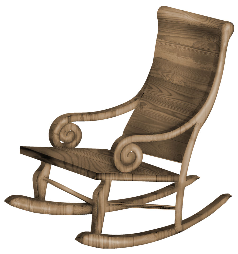 Furniture clipart comfortable chair. Transparent rocking png gallery