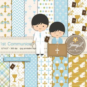 st communion boy. Chalice clipart bible