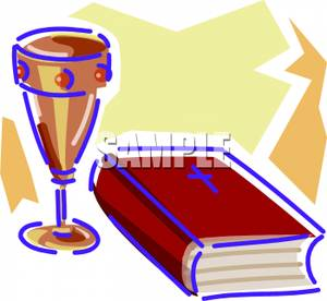 Chalice clipart bible. A and royalty free