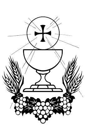 Blood clipart black and white. Body of christ clip