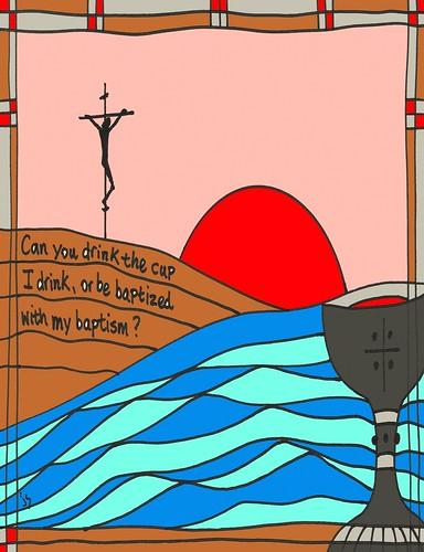 Church stushie art . Chalice clipart bulletin