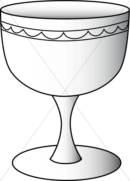 Greek. Chalice clipart communion cup