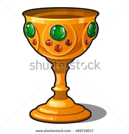 collection of fire. Chalice clipart goblet