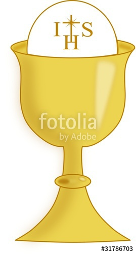 Chalice clipart gold chalice. Stock image and royalty