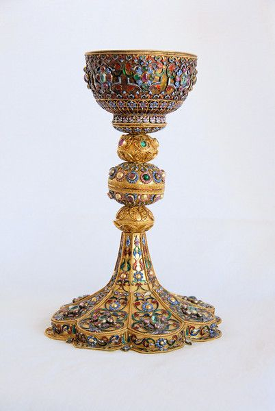 Armenian solid gold with. Chalice clipart golden chalice