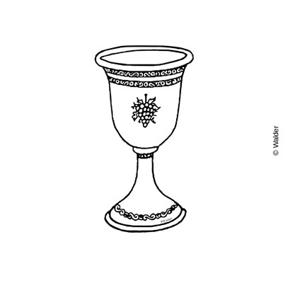 Walder education enlarge view. Chalice clipart kiddush cup