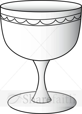 Chalice clipart outline.  clip art clipartlook