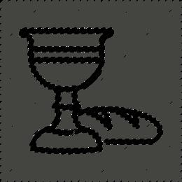 Clip art . Chalice clipart outline