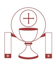 Jesus caritas priests retreat. Chalice clipart priesthood
