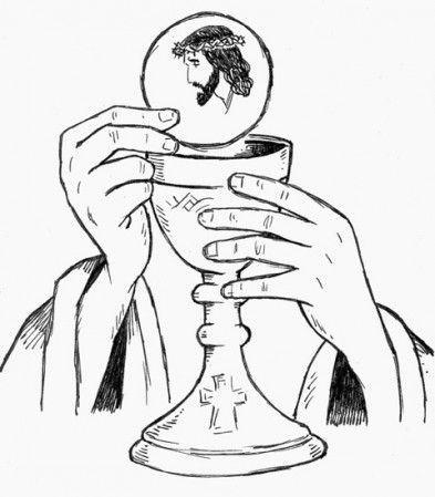best all things. Chalice clipart priesthood