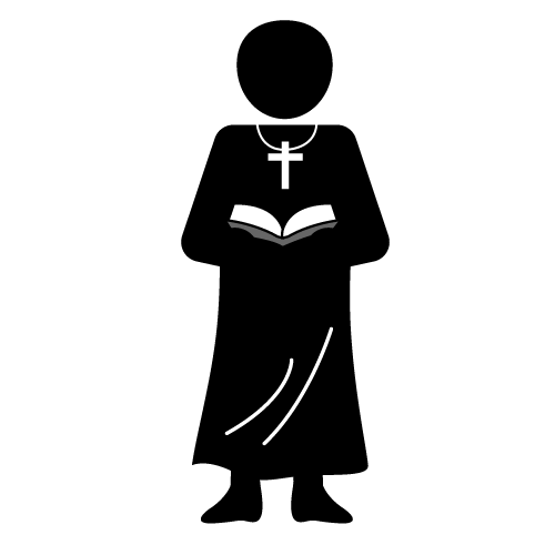 Chalice clipart priesthood. Priest black and white