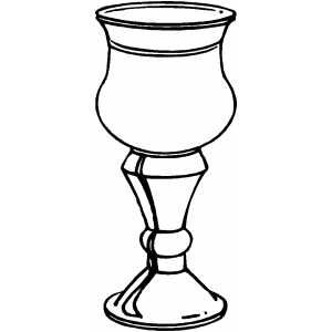 Chalice clipart priesthood. Cup coloring page sunday