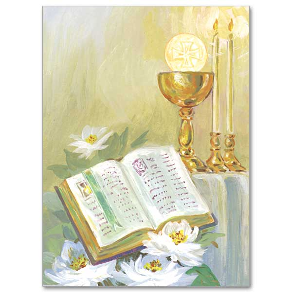 Chalice clipart priestly ordination. Invitation the printery house