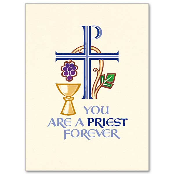 Invitation the printery house. Chalice clipart priestly ordination