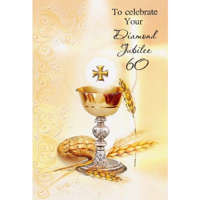 Anniversary cards special occasions. Chalice clipart priestly ordination