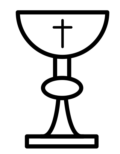 Catholic christian church communion. Chalice clipart religious