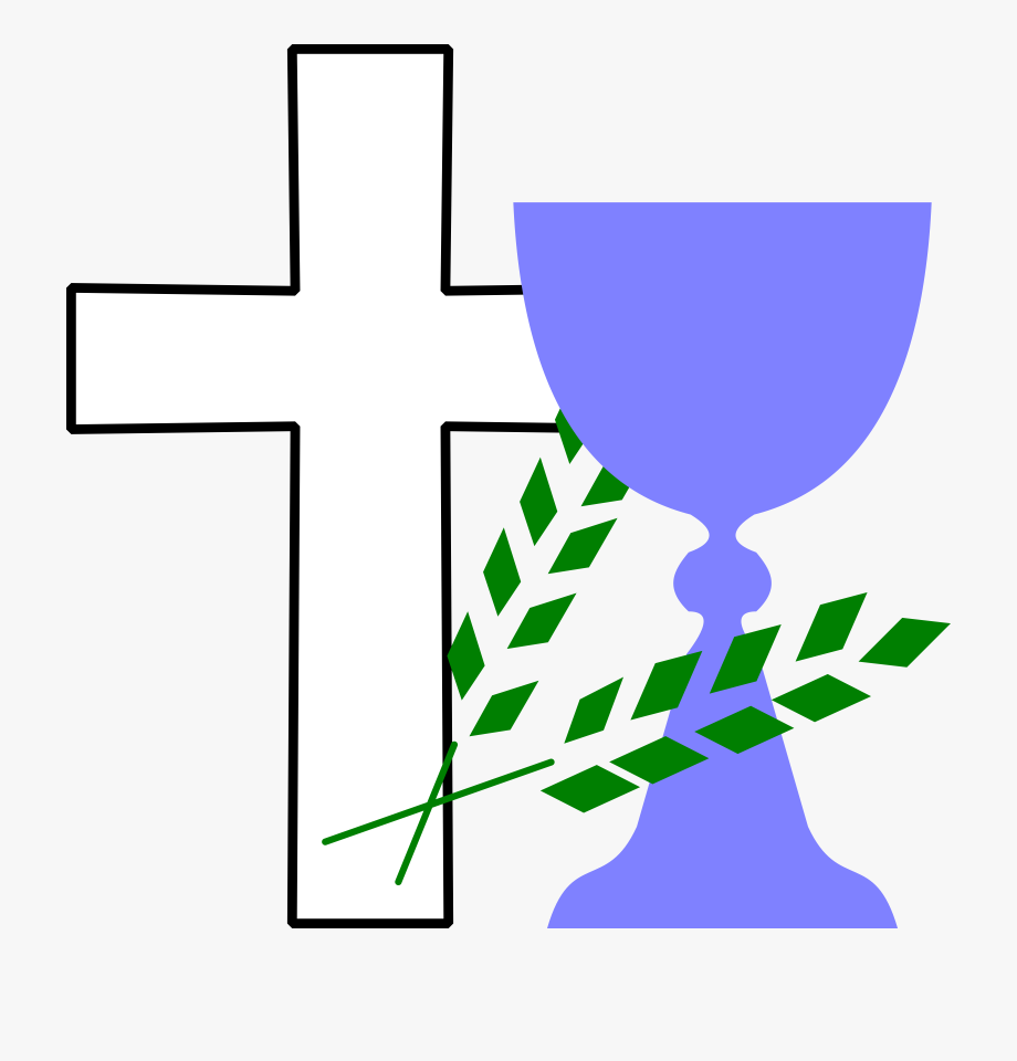 Chalice clipart religious. With cross