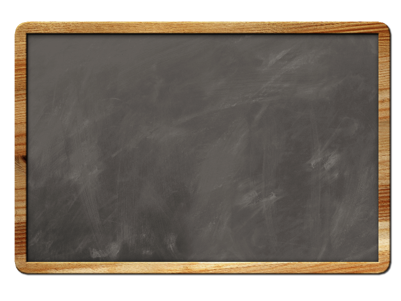 Chalk border png. Blank chalkboard background with