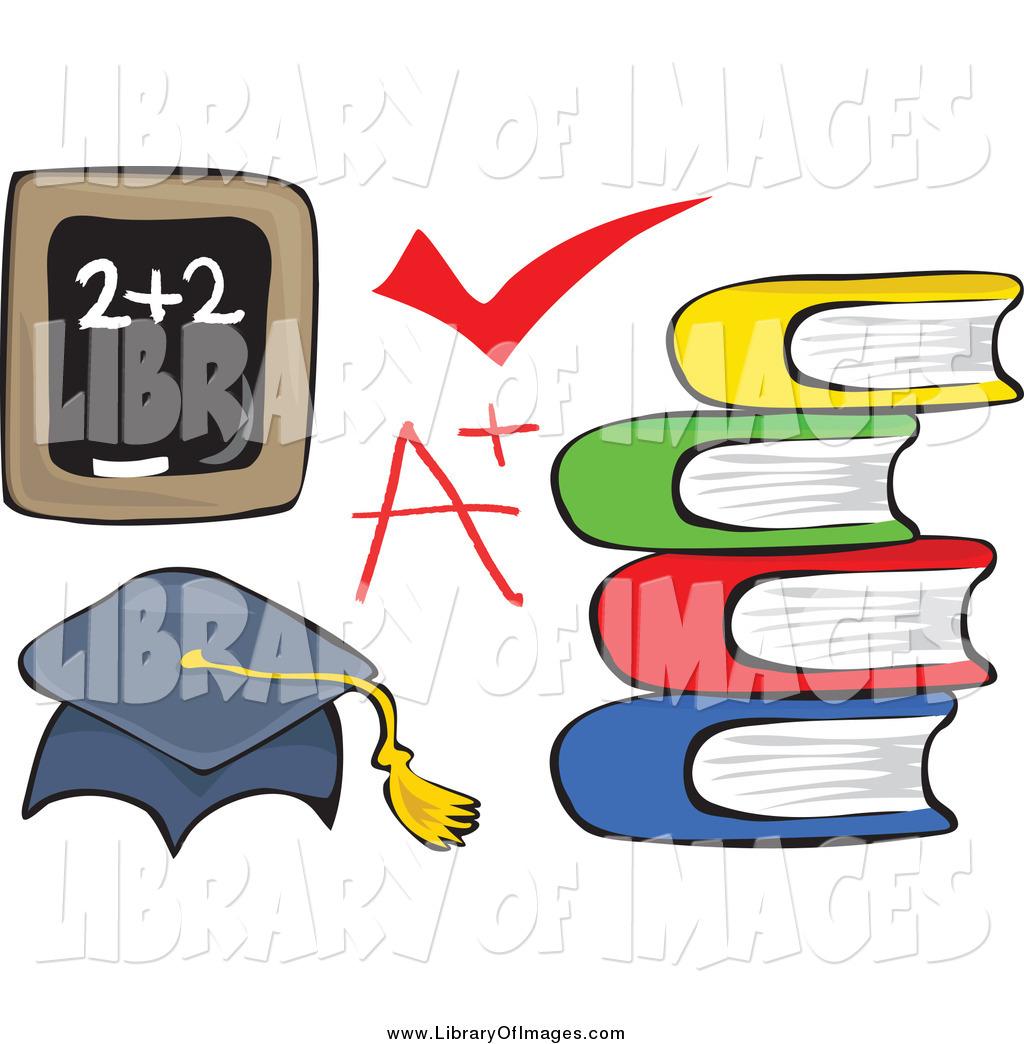 Clip art of a. Chalk clipart book
