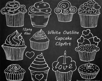 Free chalkboard cliparts download. Chalk clipart cake