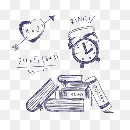 Chalk clipart cartoon. Drawing png vectors psd