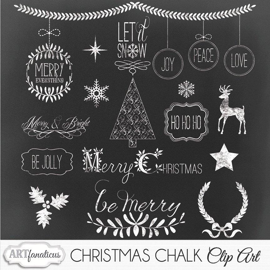 Christmas chalk illustrations creative. Chalkboard clipart chalkboard sign