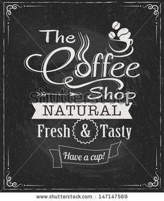 Chalk clipart coffee. Chalkboard framed menu frames