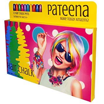 Chalk clipart color chalk. Amazon com hair set