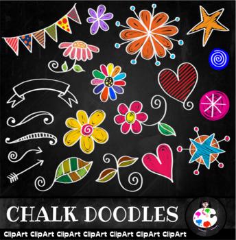 Board clip art . Chalk clipart doodle
