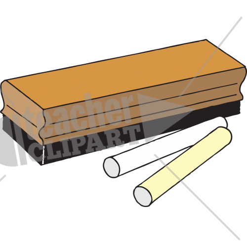 Chalk clipart duster.  png teacher and
