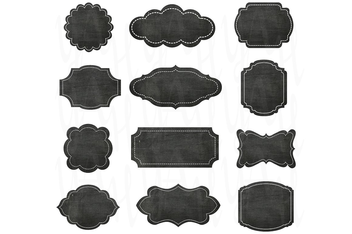 Photos graphics fonts themes. Chalkboard clipart frame