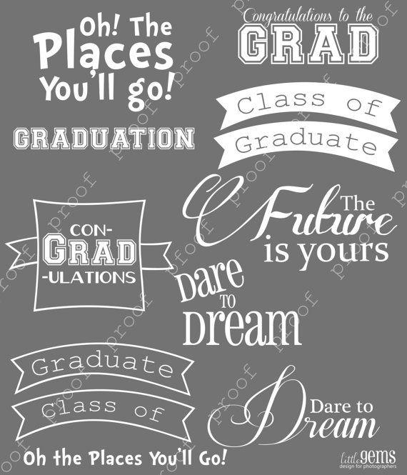 Photoshop brushes word art. Chalkboard clipart graduation