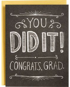 Custom sign for senior. Chalkboard clipart graduation