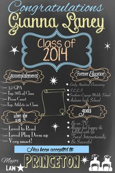 Chalkboard clipart graduation. Boy printable personalized poster