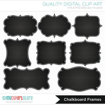 Frames chalkboard labels by. Label clipart chalk