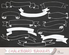 Long pink banner transparent. Chalk clipart ribbon